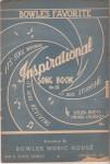 Inspirational song book, no. 12, 1927