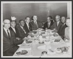Executives from the Golden State Mutual Life Insurance Company and Reverend Ralph Abernathy
