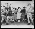 [African-American students entering Central High School]