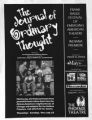 The journal of ordinary thought flyer