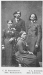 C. H. Richardson; Mrs. Richardson; T. L. Johnson; Mrs. Johnson; [Group of Missionaries; The African Mission.]
