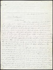 Letter to] Maria W. Chapman, My Dear Friend [manuscript