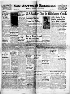 San Antonio Register (San Antonio, Tex.), Vol. 28, No. 36, Ed. 1 Friday, December 12, 1958 San Antonio Register