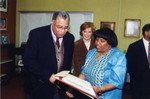 James Earl Jones with Librarians at African American Living Legends Series Program