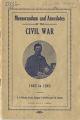 Memorandum and anecdotes of the Civil War, 1862 to 1865