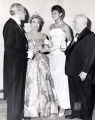 Judge Raymond Pace Alexander, Joan Crawford, Wilma Rudolph and Arthur Spingarn at the Philadelphia Cotillion Society