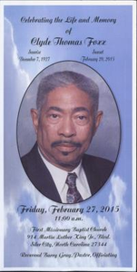 Celebrating the Life and Memory of Clyde Thomas Fox