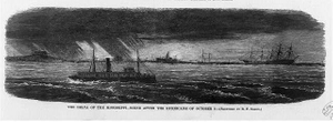 The delta of the Mississippi: Scene after the hurricane of October 5