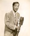 Vaudeville singer and dancer Sammy Davis Jr.