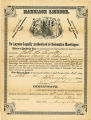 Charles B. Church - Marriage License