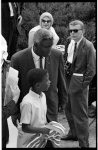 [Jackie Robinson and his son, David, at the March on Washington for Jobs and Freedom]