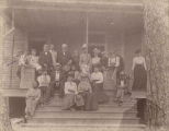 First men taken to the home for Confederate veterans in Mountain Creek, Alabama.