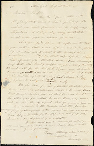 Letter from Dewey Whitney, New York, to Amos Augustus Phelps, 1830 July 28