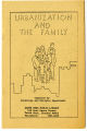 Public Library of South Bend, Urbanization and the family, reading list, 1968