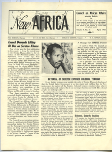 New Africa volume 9, number 3