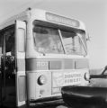 Bus that African Americans had attempted to integrate in Birmingham, Alabama.