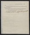 Governors' Papers: Benjamin Smith Correspondence, November 1811