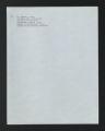 Multi-Cultural. Black. Black Social Work Educators, 1969-1970. (Box 455, Folder 10)