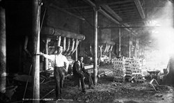 Kansas City Smelting Co. blast furnaces