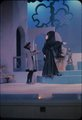 """Scene from Young People's Theatre production of """"Greensleeves' Magic"""" performed at Pioneer Memorial Theatre, University of Utah, January 18-19, 1963 [9]"""