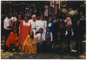Digital image of a Perryman family reunion