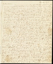 Letter to] My Dear Debora[h] [manuscript