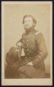 [Colonel Joseph Lee Kirby Smith of 1st Regular Army Engineers Battalion and 43rd Ohio Infantry Regiment in uniform]
