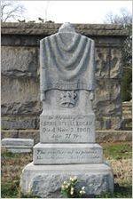 Gravesite of Carrie Steele Logan