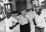 Boys in a schoolyard