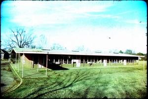 Booker T. Washington School in Marshall