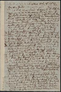 Letter from Richard Davis Webb, Dublin, [Ireland], to Maria Weston Chapman, Oct. 18, 1847
