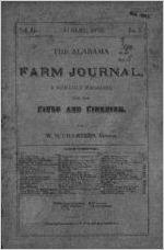 1879-08: Alabama Farm Journal, Auburn, Alabama, Volume 2, Issue 5