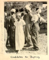 Photographs from the Puckett Collection: Mississippi river baptism