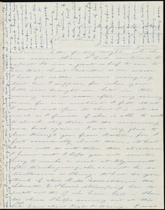 Letter from Deborah Weston, New Bedford, [Mass.], to Anne Warren Weston, Nov. 25th, 1839, Monday afternoon