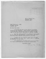 Correspondence, May 28, 1928