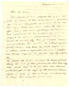 Letter from Noémi Kóbor to W. E. B. Du Bois