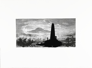 Lost Mountain at Sunrise, from the portfolio Harper's Pictorial History of the Civil War (Annotated)