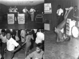 Images of Bobby Jackson and His Sneakers at the Elks Club in Montgomery, Alabama.