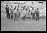 Colored children of sharecroppers, Little Rock, Arkansas