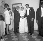 Frank Holoman and Gilbert Lindsay, Los Angeles, 1969