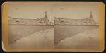 Fort Sumter, south side, Morris Island