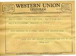 Socs and Mrs. Wilson Reidinger to James H. Meredith (Undated)