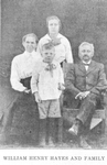 William Henry Hayes and family