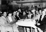 Members of the Charioteers group with their wives