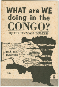 What Are We Doing in the Congo?