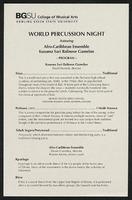 World Percussion Night
