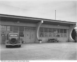 Negro War Recreation Council Headquarters building