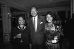 Tom Bradley with black Emmy nominees, Los Angeles, 1989