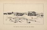 Un coin du village de l'ile de Robben