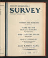The Survey Midmonthly, August, 1935. (Volume 71, Issue 8)